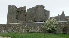 Cashel岩石偶象废墟在爱尔兰 影视素材