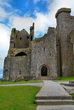 Cashel岩石在蒂珀雷里郡在爱尔兰共和国 库存照片