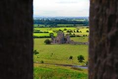 Cashel岩石在蒂珀雷里郡在爱尔兰共和国 免版税图库摄影