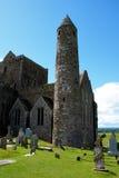 Cashel岩石在蒂珀雷里郡在爱尔兰共和国 图库摄影