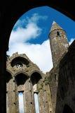 Cashel岩石在蒂珀雷里郡在爱尔兰共和国 免版税库存照片