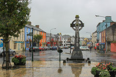 Cashel,爱尔兰, 2014年10月31日:市中心在Cashel,蒂珀雷里郡,爱尔兰 免版税库存图片