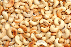 Cashew. Close up of the cashew nuts Royalty Free Stock Images
