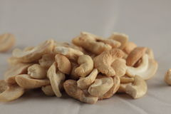 cashew against light background Royalty Free Stock Image