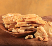 Cashew Brittle Royalty Free Stock Image
