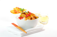 Cashew Chicken Royalty Free Stock Photo