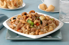 Cashew Chicken Stock Images