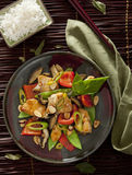 Cashew Chicken Royalty Free Stock Images