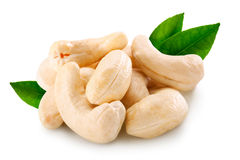 Cashew. Isolated on a white background stock image