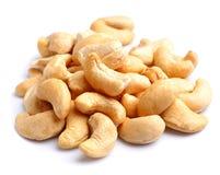 Cashew nut closeup Stock Photos