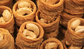 Cashew nut confectionary royalty free stock photos