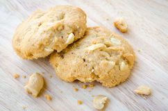 Cashew nut cookie Royalty Free Stock Photo