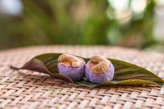 Cashew nut cookies stock image