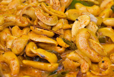 cashew nut curry Royalty Free Stock Photography