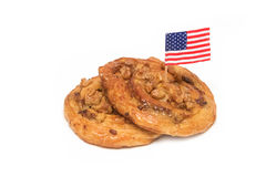 Cashew nut Danish pastry Stock Image