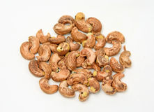 Cashew nut with peel Stock Images