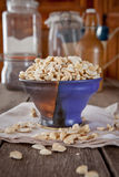 Cashew nut pieces Stock Photography