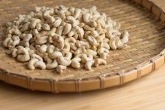 Cashew Nut wood background selective focus. Cashew Nut wooden background selective focus Royalty Free Stock Image