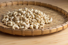 Cashew Nut wood background selective focus. Cashew Nut wooden background selective focus Stock Photography
