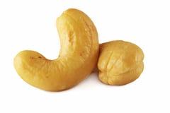 Cashew Nuts. Isolated on white background Stock Photos
