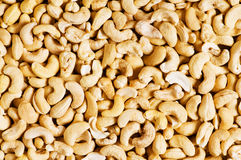 Cashew nuts arranged Royalty Free Stock Image