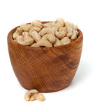 Cashew nuts in a bowl Royalty Free Stock Image