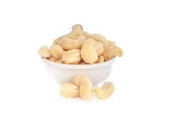 Cashew Nuts in a bowl Royalty Free Stock Photography
