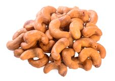 Free Cashew Nuts. Cashew Nuts On The Background Royalty Free Stock Image - 103285676