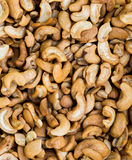 Cashew nuts closeup Royalty Free Stock Photography