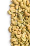 Cashew nuts coated wasabi Royalty Free Stock Photos