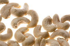 Cashew Nuts Isolated Stock Photos
