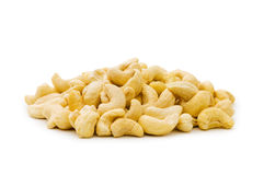 Cashew nuts isolated Royalty Free Stock Image