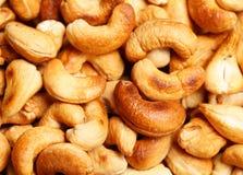 Cashew nuts roasted Stock Photos