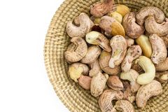 cashews Royaltyfria Bilder