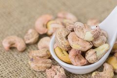 cashews Royaltyfri Foto