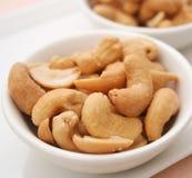 cashews Royaltyfri Fotografi