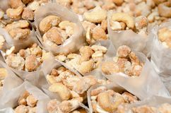 cashews Arkivfoton