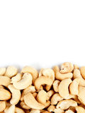 Cashews border 2 Royalty Free Stock Images