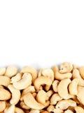 Cashews border 2 Royalty Free Stock Images