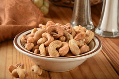 Cashews close up Stock Photography