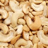 Cashews group square format Stock Images