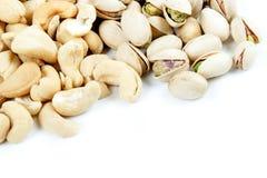 cashewspistascher Arkivbilder