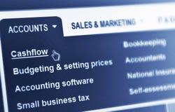 cashflow Obrazy Stock