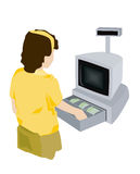 Cashier Stock Images