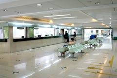 Cashier counter hall Stock Photos