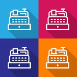 Cashier machine icon great for any use. Vector EPS10. Royalty Free Stock Photography