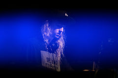 Cashmere Cat (musician, producer and DJ and turntablist) performs at Sonar Festival. BARCELONA - JUN 20: Cashmere Cat (musician, producer and DJ and turntablist Stock Image