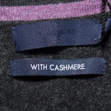 With cashmere label Stock Photography