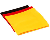 Cashmere scarf as German flag Stock Photography