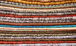Cashmere shawls texture Stock Images